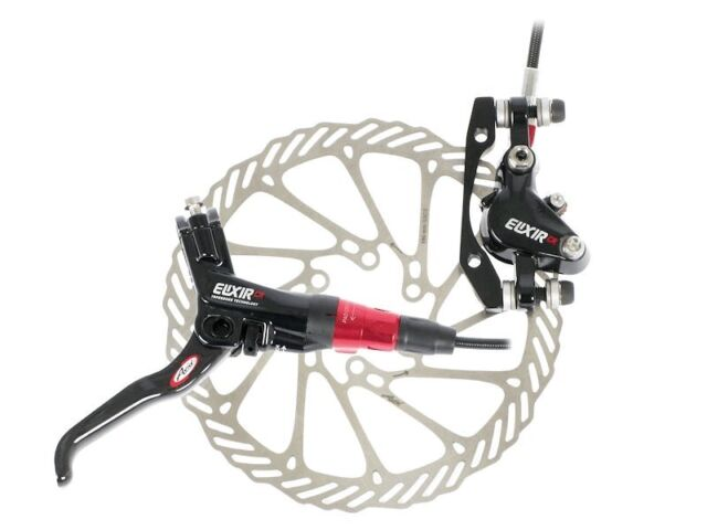 AVID ELIXIR CR Carbon Hydraulic Disc Brake 160 185 Black Red White Grey Cycling