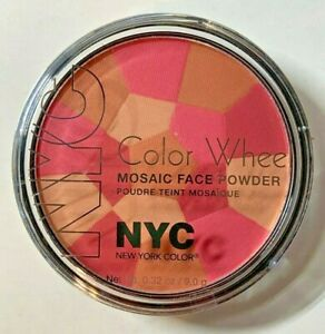 NYC-Color-Wheel-Mosaic-Face-Powder-723APink-Cheek-Glow-New-York-Color-New-Sealed
