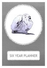 Pomeranian Dog Show Six Year Planner/Diary by Curiosity Crafts 2017-2022