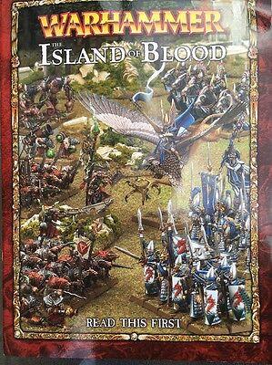 Amabile Warhammer L'isola Di Sangue Guida-mostra Il Titolo Originale Vincere Elogi Calorosi Dai Clienti