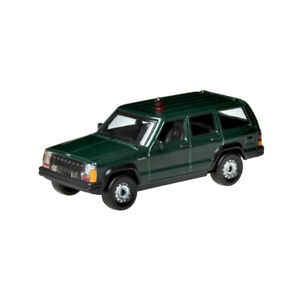 Details about Toy Car Jeep Cherokee Police Car 1:57 (Green) (Metal &  Plastic Parts)