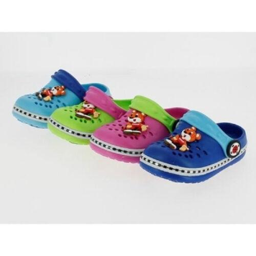 Baby niños Clogs Zapatos para baño zapatillas de casa sandalias gartenclogs zapatos talla 19-24