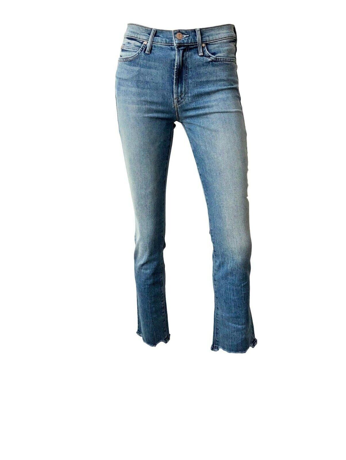 Mother Denim  Rascal Tobillo Jeans Talla 30 Azul Claro Recto Flaca Delgada  barato y de moda
