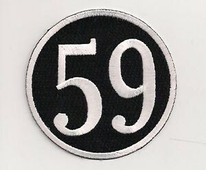 Image Is Loading 59 Club Patch 3 Inch Rocker Ace Cafe