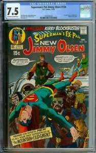 SUPERMAN'S PAL JIMMY OLSEN #134 CGC 7.5 OW/WH PAGES // 1ST APP DARKSEID IN CAMEO