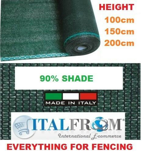 100mt malla de ocultaciòn verde jardín balcón sombra mat pantalla sombrilla