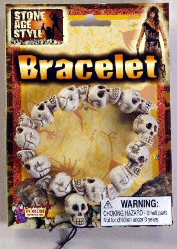 Stone Age Style Skull Bracelet