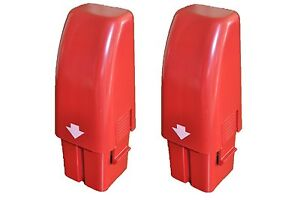 2PCS-OF-BRAND-NEW-RED-SWIVEL-SWEEPER-HIGH-CAPACITY-NiHM-RECHARGEABLE-BATTERIES