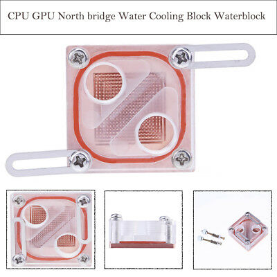 North and South Bridge CPU Block Waterblock G1//4 for 44-58mm PC Water Cooling