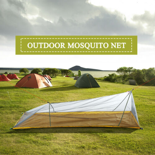 Lixada Outdoor Moskitonetz Campingzelt Insektenschutz Mückennetz Bett Reise J7S5