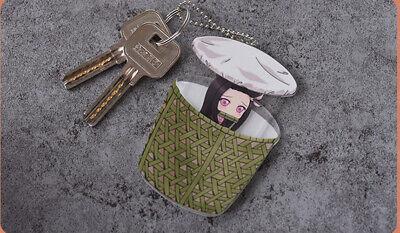 Demon Slayer Kimetsu no Yaiba Kamado Nezuko Key Chains Pendant Keychian Charms