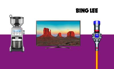 15% off* Selected Bing Lee items