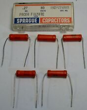 10/% NOS. 200v pg1r Sprague 192p 10 Condenser Capacitor 470pf