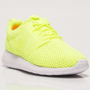 3f3b86ab39e84 Nike Roshe One Hyperfuse BR Men s New Volt White Shoes Last Sizes ...
