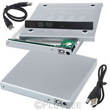 SATA to USB 2.0 External Enclosure Cover Caddy Case Laptop CD DVD Rom RW Combo