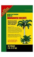 Manganese Sulfate Fertilizer - Contains Manganese As Metallic 27%- 5 Lbs.