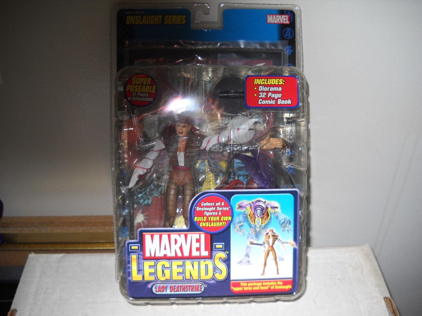 Marvel - legenden lady deathstrike vf   nm