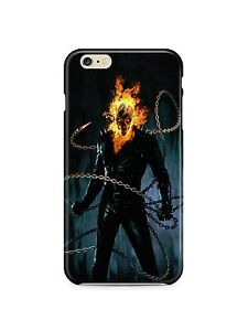 Iphone-4s-5-5s-5c-6-6S-7-8-X-XS-Max-XR-Plus-Hard-Cover-Case-Ghost-Rider-Marvel
