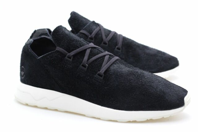 Adidas Originals WH ZX Flux X Wings Horns Black Off White BB3751 Consortium
