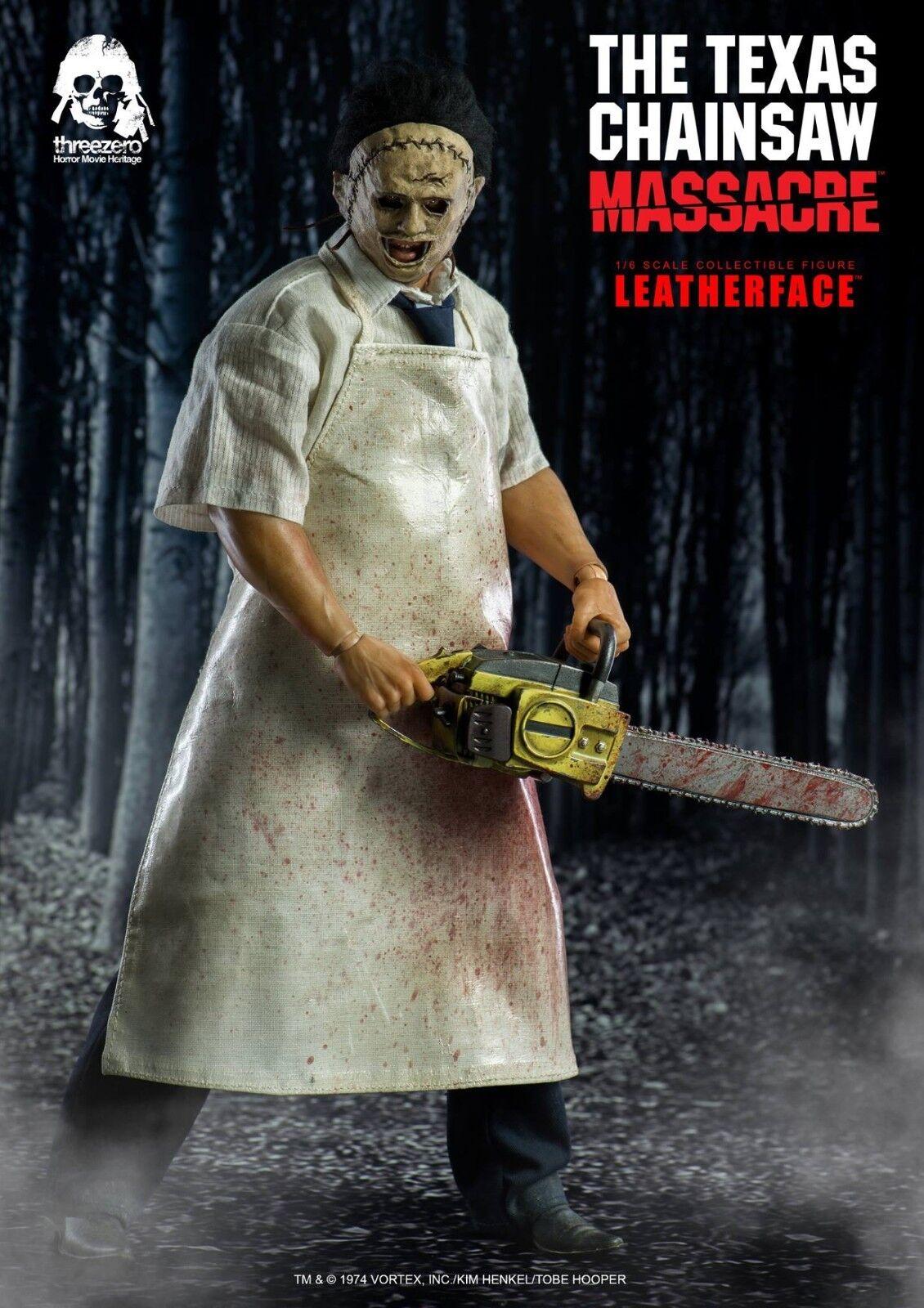 ThreeZero 1974 horror film The Texas Chain Saw Massacre Lederface 1/6 Figure