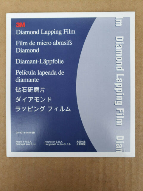 "NH USA 50 Pcs MOYCO Diamond Lapping Film 19 Micron 5/"" Diameter 3 Mil Backing"