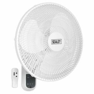 Sealey-SWF16WR-Mural-Refroidir-Ventilateur-3-Speed-40-6cm-Oscillant-Avec-230V