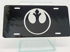 Rebel Alliance Logo Star Wars License Plate High Gloss
