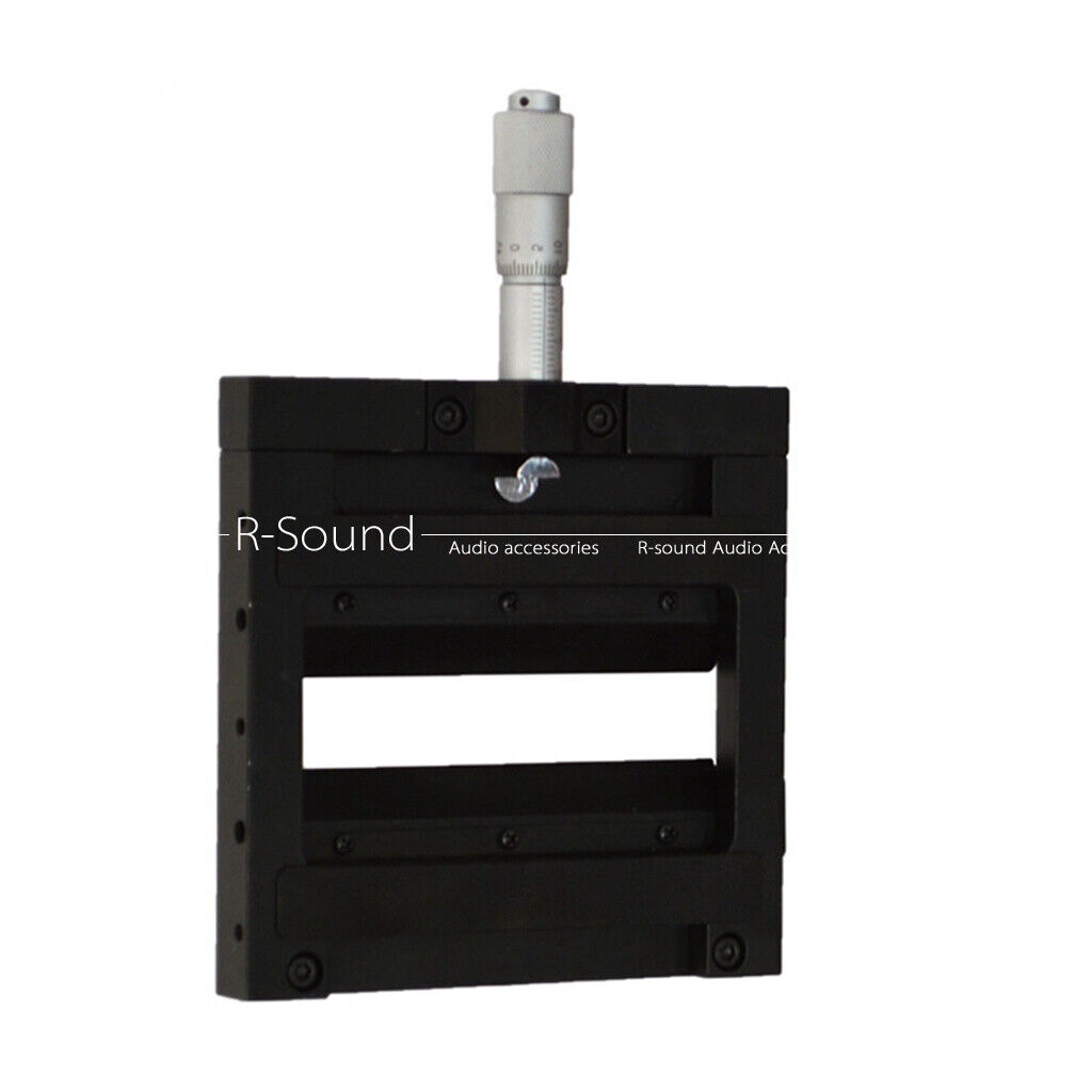 Optical manual single opening slit, differential head drive adjustable width