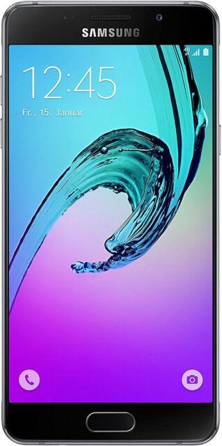 Samsung Galaxy A5 (2016) Smartphone 5,2 Zoll (13,22 cm) A510 16GB schwarz - NEU