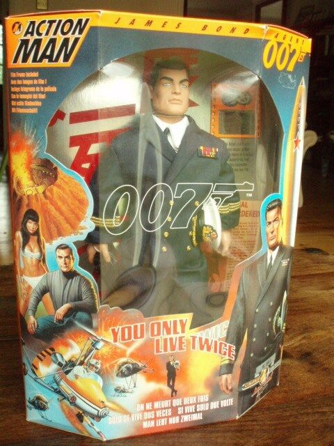 Collectors Rare Limited Edition Action Man James Bond. Complete Complete Complete unopened 6 set 3b0080