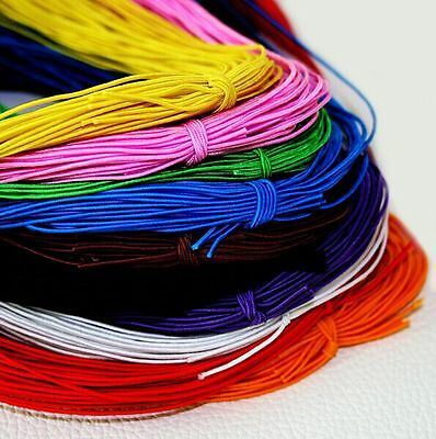20/100m Beading elastic Stretch Cord String Strap Rope Bead For Bracelet 1MM