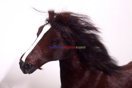 """12/"""" Action Figure WWII Soldier New 1//6 Scale War Battle Brown Horse w//o Saddle"""