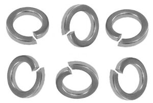 Metric A2 Stainless Steel Square Section Spring Washers M2 to M14