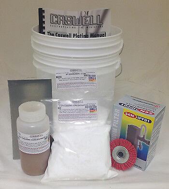 1.5 Gal Copy Cad /& Zinc Plating Kit