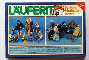 Lauferit-pate-a-modeler-durcir-au-four-vintage-annees-80-modelliermasse-complet