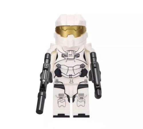 White HALO Xbox Custom Lego* Figure #198