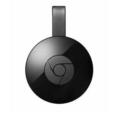 Google Chromecast 2 Media Streaming Device Black 2nd Generation With Warranty