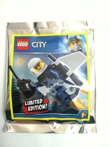 Lego City New Foil Pack 951904 Flying Man Handcuffs Toy Kids Pack A3