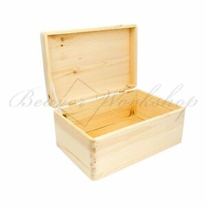 wooden boxes with lid plain wooden box storage box no handles ebay. Black Bedroom Furniture Sets. Home Design Ideas