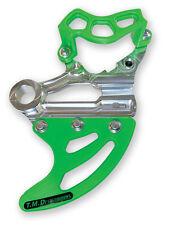 TM Designworks Green Rear Disc Guard Kit Kawasaki 05-17 KX250F KX450F RDP-KXF-GR