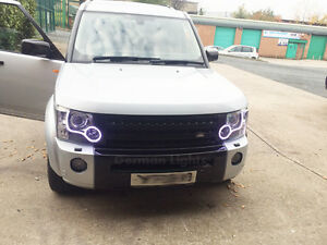 Landrover Discovery 3 4 Smd Led Headlight Conversion Drl