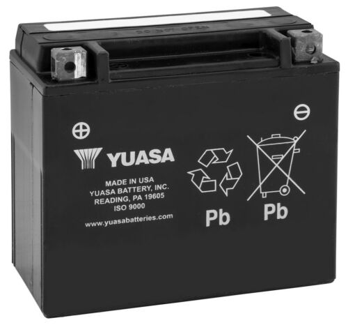 New Yuasa Maintenance Free ATV//UTV Battery 2003-2010 Yamaha YFM450FX Wolverine