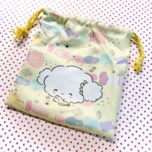 Kawaii Amarillo cogimyun Pouch-Sanrio con cordón bolsa bolsa con cogimyun Hada Kei