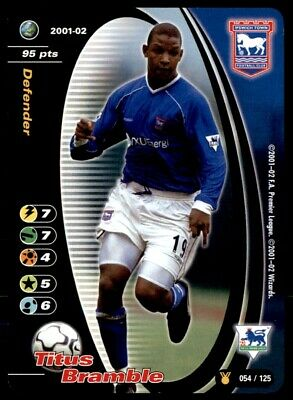 Wizards of the Coast (Title Race) 2001/02 Titus Bramble Ipswich ...