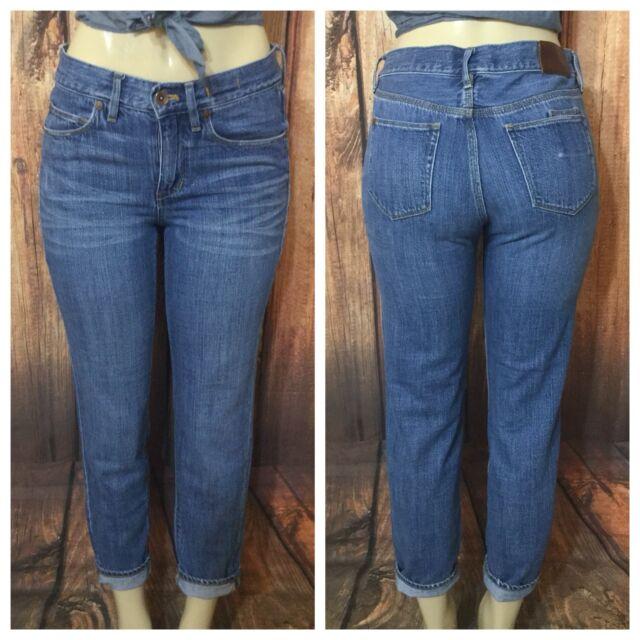 0ecf9f23ffab12 Madewell Slim Boyjean High Waist Boyfriend Jeans Size 26 | eBay