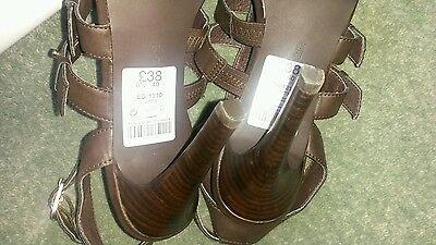 Señoras Sandalias/zapatos talla siguiente UK 6.5 BNWT