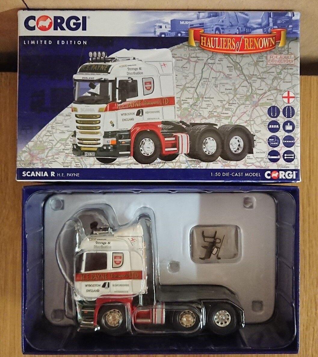 Corgi CC13779 Scania R, H.E. Payne Ltd Edition No. 1000 of 1000
