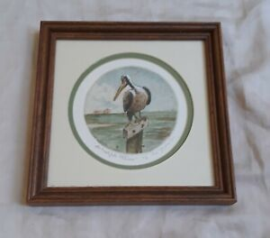 VTG-SIGNED-HAND-PULLED-ETCHING-OF-PELICAN-BY-OHIO-ARTIST-ED-GIFFORD-1986