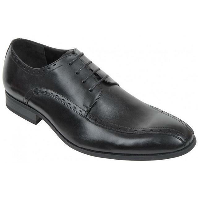Azor Regent Sautope Eleganti Nero da Uomo UK Taglia 12 Sautope classeiche da uomo