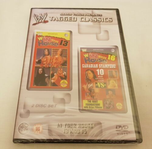 1 of 1 - NEW WWE Tagged Classics - In Your House 13/In Your House 16 (DVD 2005) REGION 2